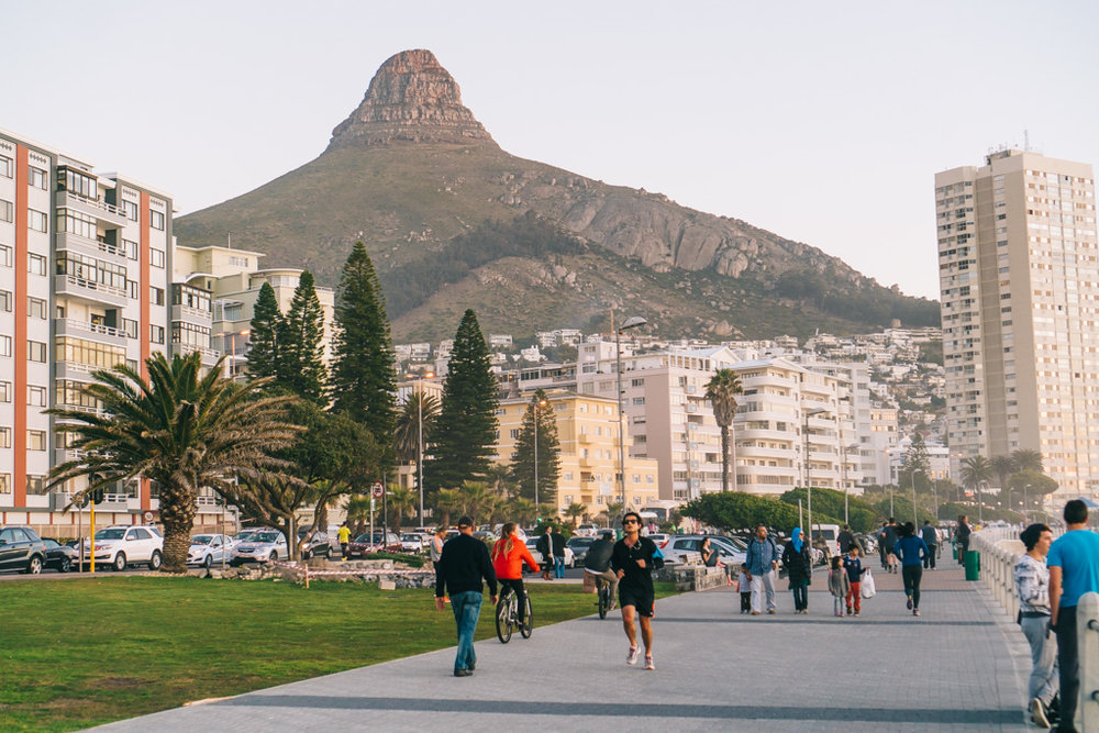 Sea Point Promenade, Cape Town