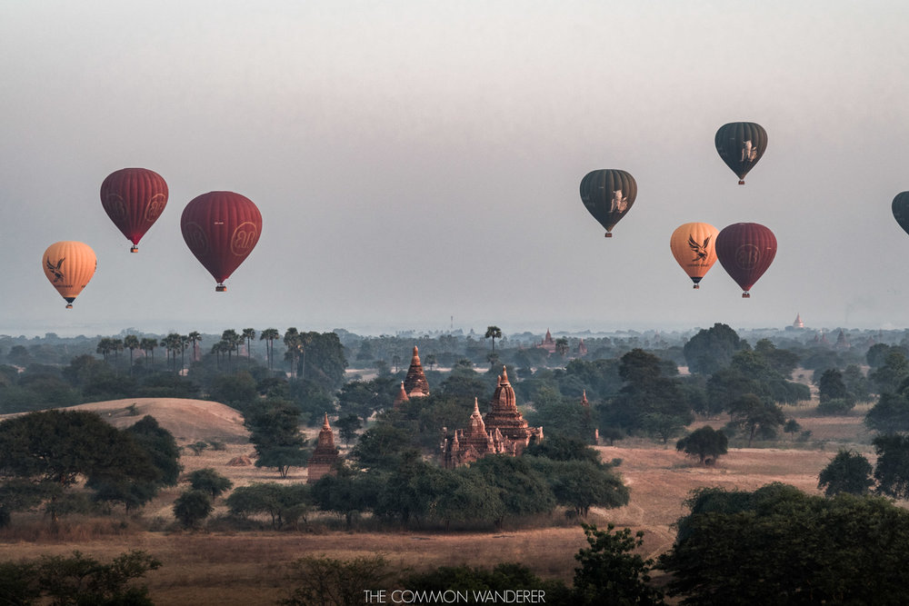 Favourite Travel Experiences, Bagan sunrise