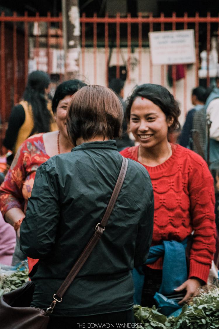 market days in Kathmandu