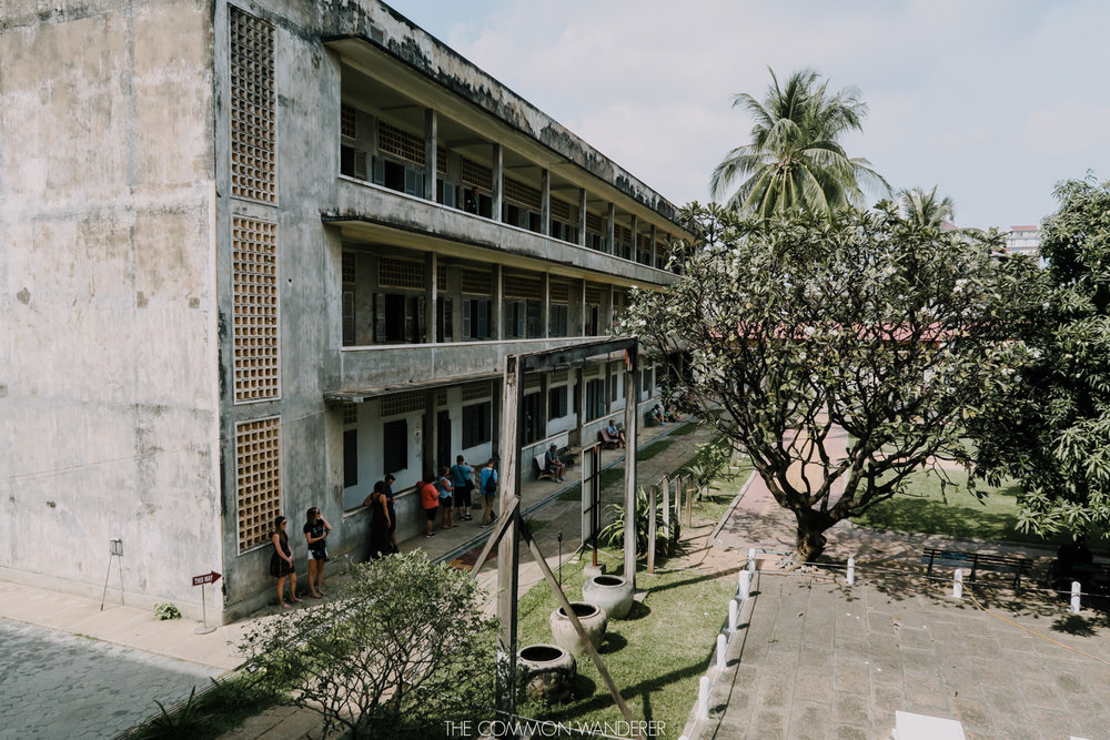 The Common Wanderer_the Tuol Sleng prison in Cambodia