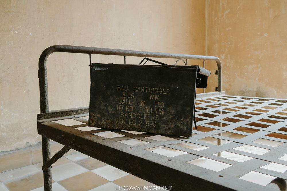 The Common Wanderer_inside the Tuol Sleng prison
