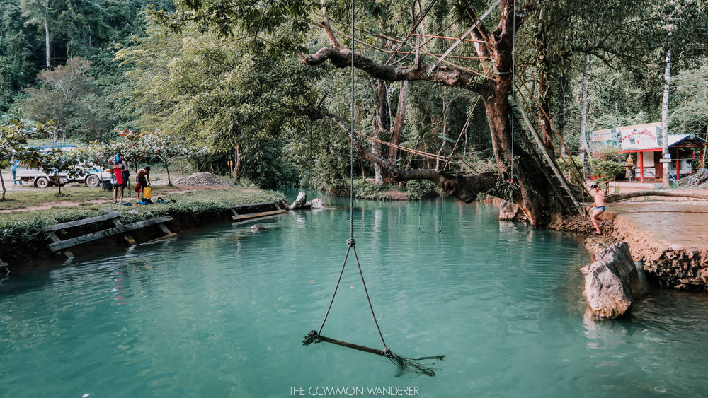 where to visit in Laos - Vang Vieng adventure capital