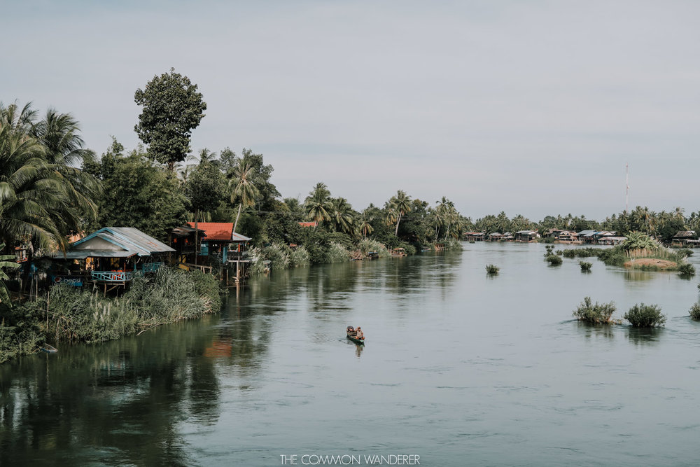 Don Det 4,000 islands in Laos