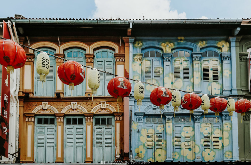 Chinatown, one of Singapore's photography locations