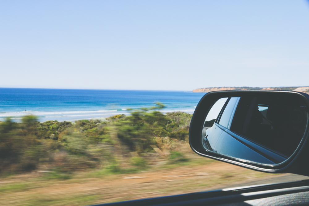 Day trips from Melbourne - driving along the great ocean road