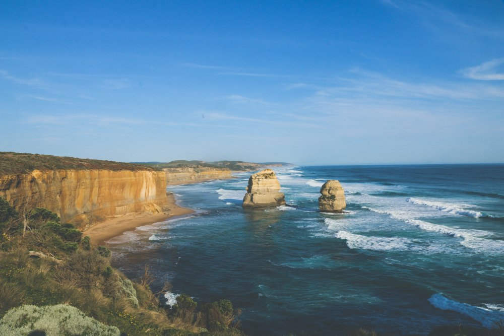 Day trips from Melbourne - the 12 apostles on the great ocean road