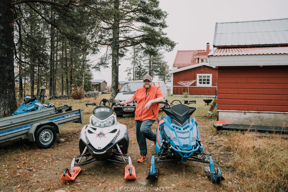 Locals in Swedish Lapland love snowmobiles - things to know before visiting Swedish Lapland