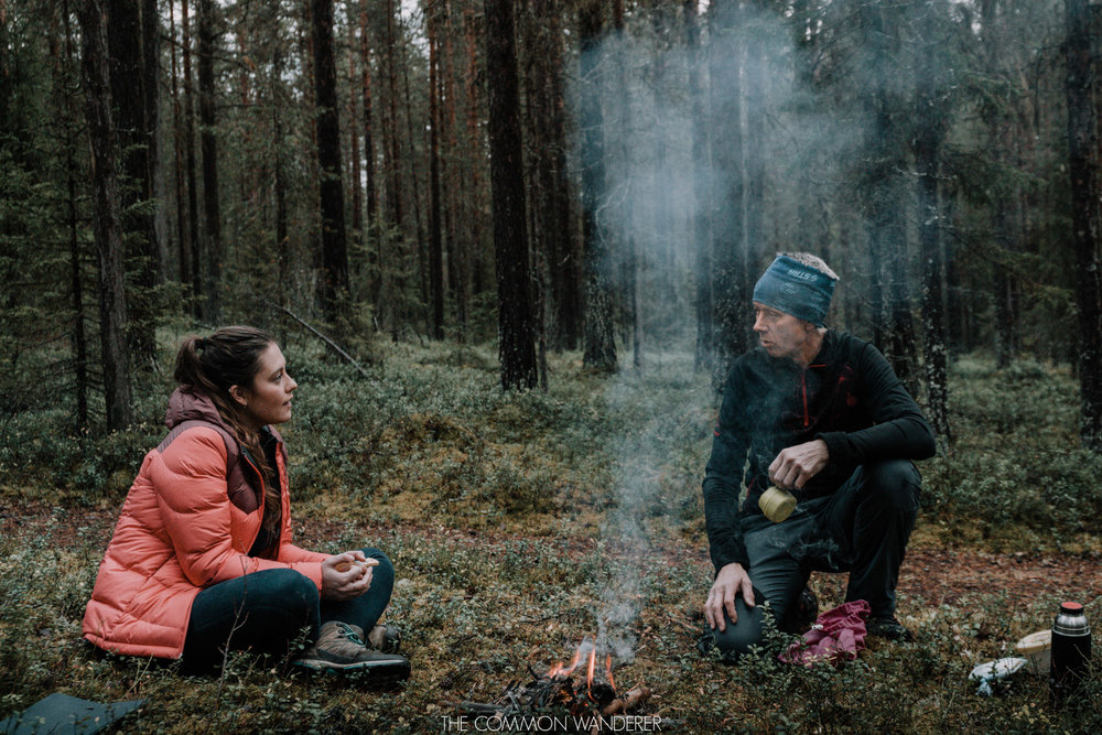 Learning about nature in Swedish Lapland