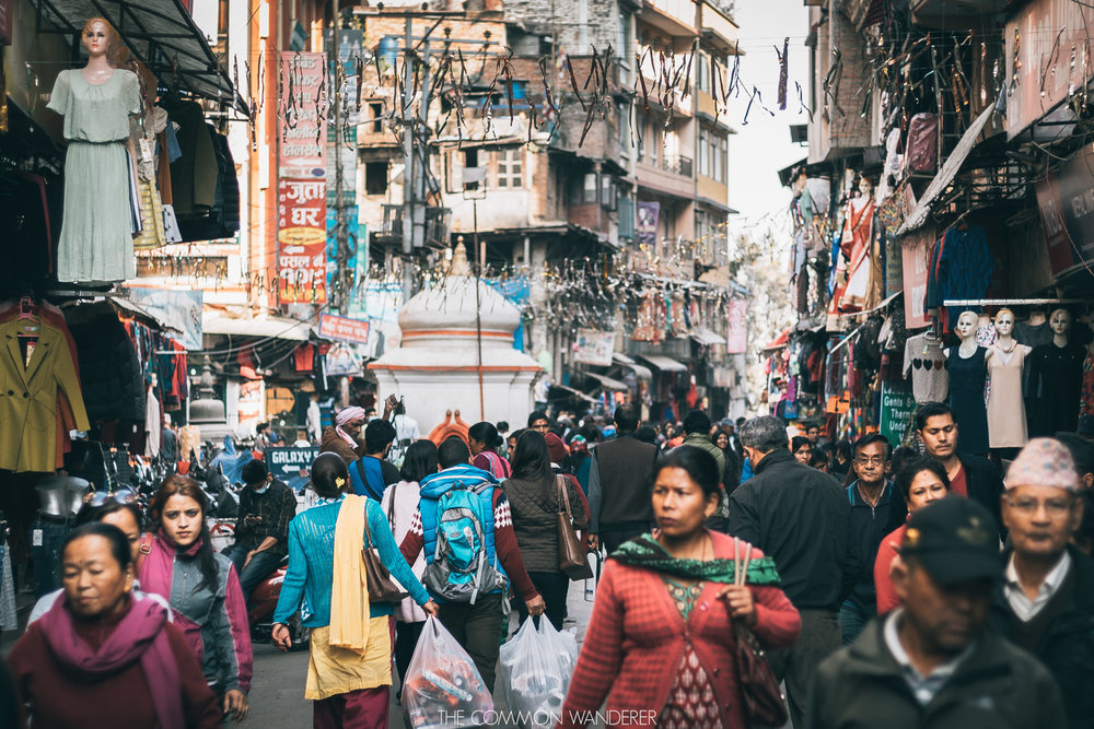 chaotic kathmandu streets - 30 photos that will make you want to visit Nepal