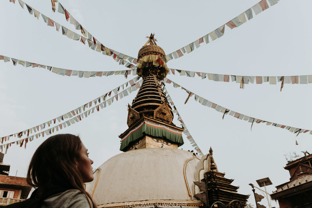 overlooking Swayambhunath temple, Kathmandu - 30 photos that will make you want to visit Nepal