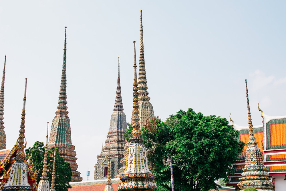 The Many Spires of Wat Pho.jpg