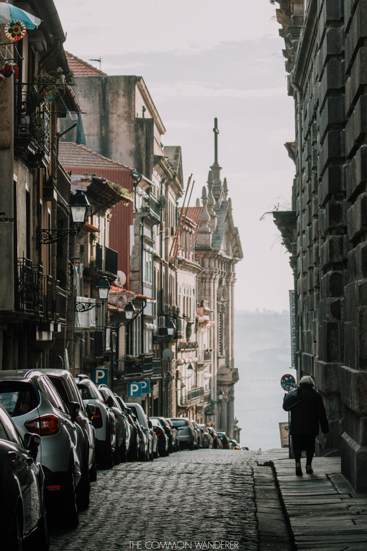 The cobblestoned streets of Porto are made for photography