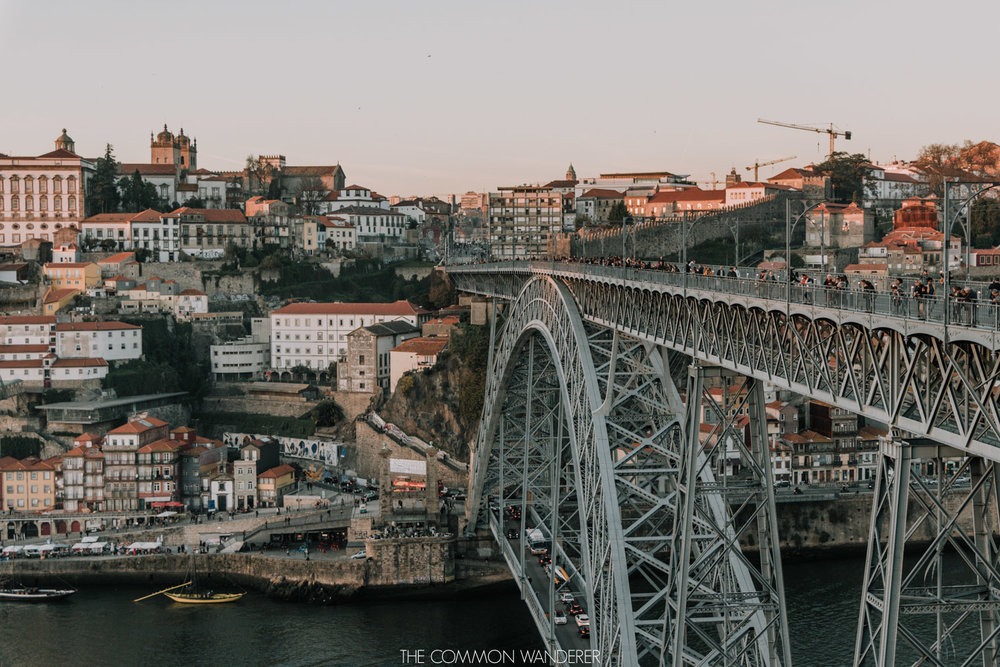 Views over the Dom Luis I Bridge - our Porto photo diary. The Common Wanderer | @thecommonwanderer