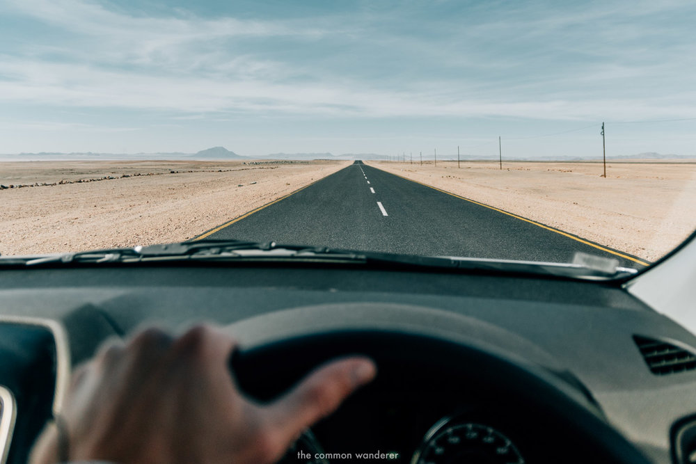 Drive on the left hand side in Namibia - Namibia driving tips