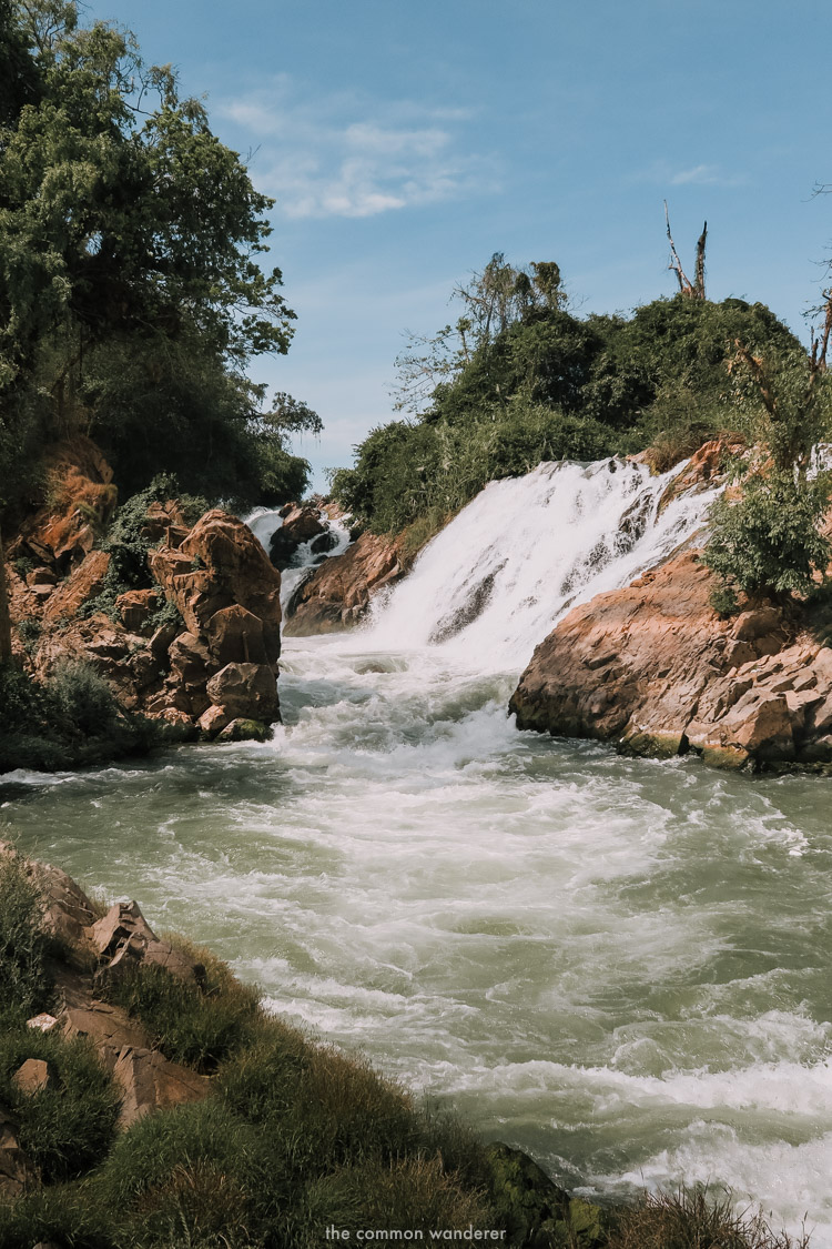 Khon Phapeng waterfall Don Det 4000 Islands, Laos