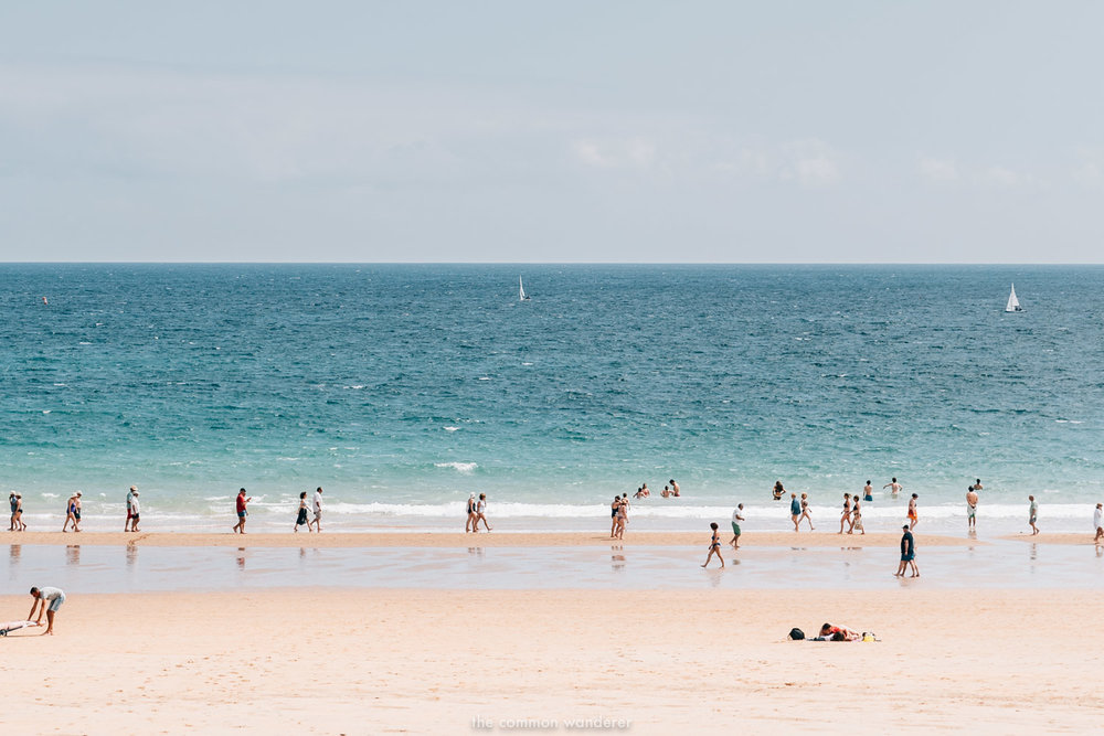 Santander Spain things to do-swim-at-el-sardinero-beach