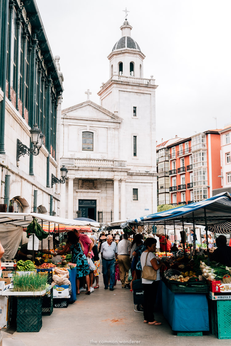 Santander Spain things to do mercado el esperanza