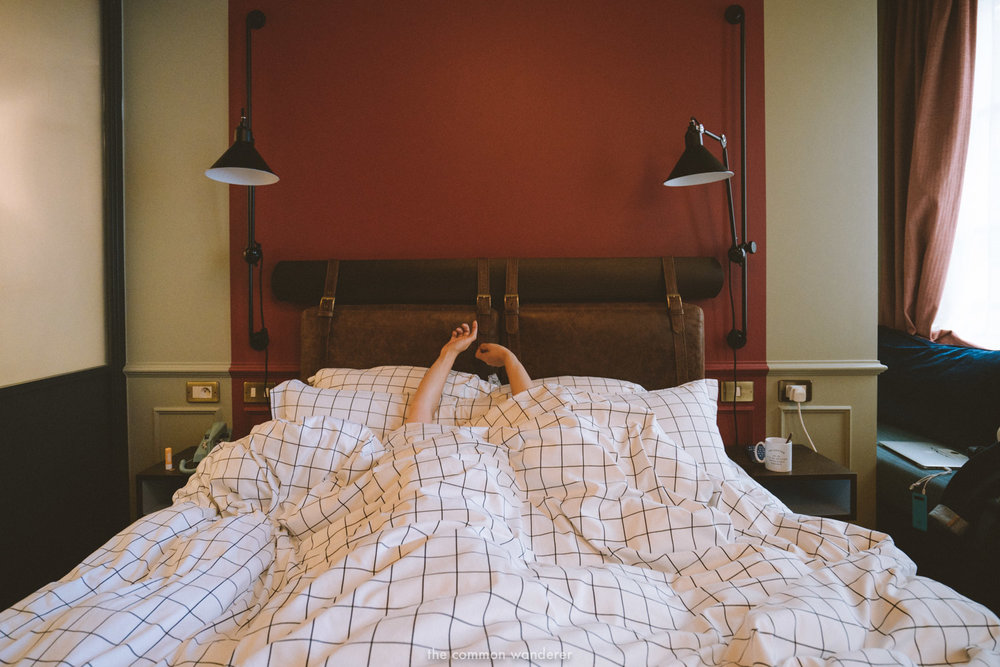Morning stretches and geometric sheets - a stylish stay at the Hoxton Paris - THECOMMONWANDERER.COM