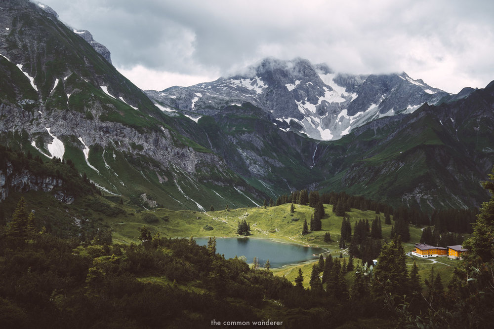 Lake Körbersee, Vorarlberg