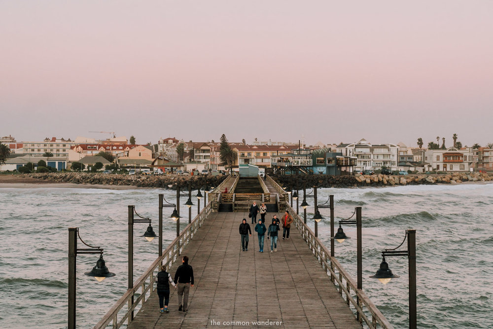 Swakopmund pier in Namibia - things to do