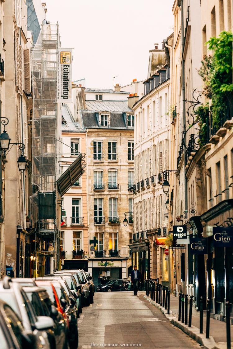 A street in St Germain, Paris