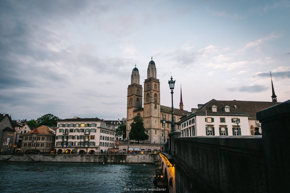 The Common Wanderer_- Grossmunster church Zurich.jpg