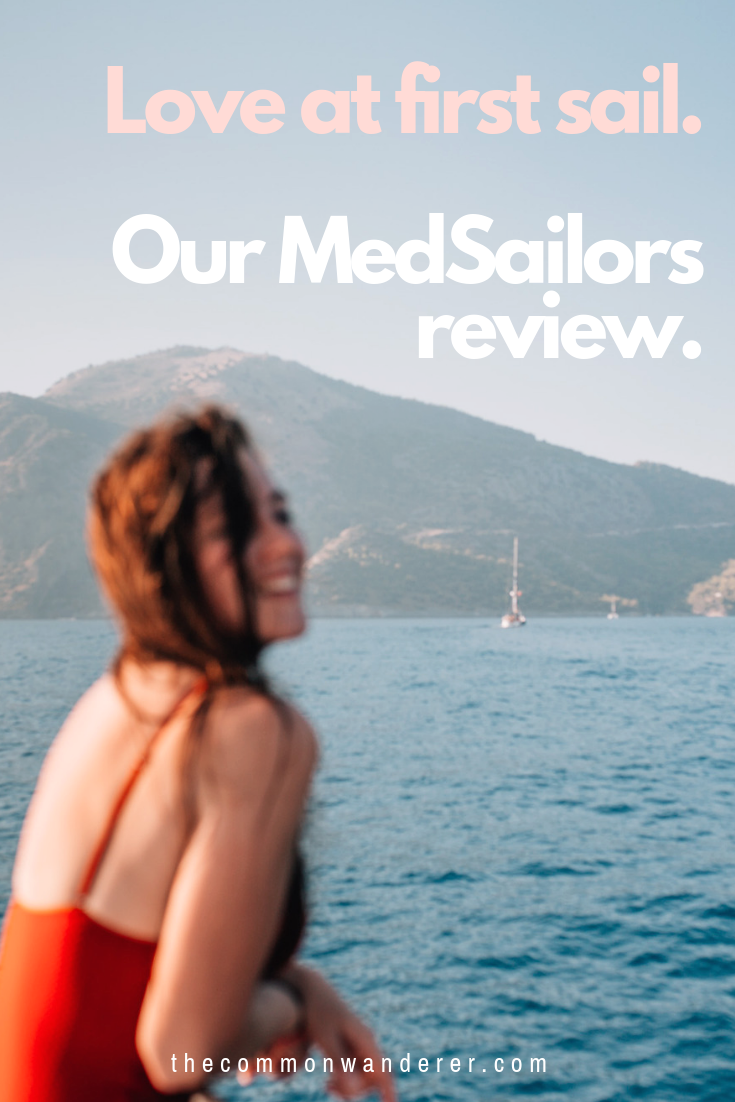 After spending a week sailing the turquoise coast of Turkey with MedSailors, it's safe to say we're now sailing converts. Here's why. | MedSailors | Sailing Turkey | Turkey travel | Oludeniz | Dalaman | Gocek | Turquoise coast | Fethiye | gulet | Turkish riviera | sailing