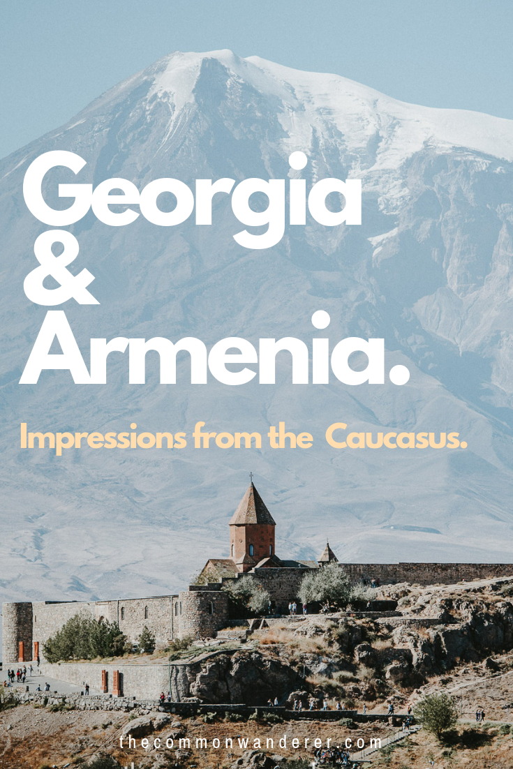Tree-carpeted mountains and sacred monasteries, weather-worn farmers and little old ladies who chat behind their fruit stands: our impressions from two weeks of travel in the Caucasus. | Georgia | Armenia | Caucasus travel | travel stories | #Georgia #Armenia #Caucasus