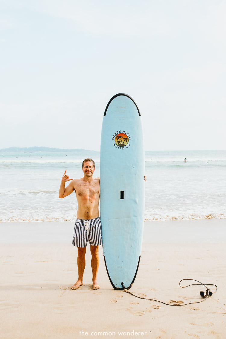 Surfing on the southern coast of Sri Lanka, Unawatuna - best things to do in Unawatuna