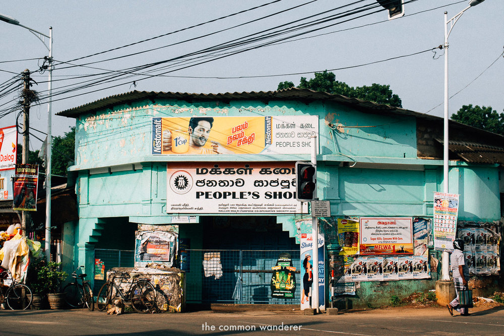 Walking through Jaffna's colourful streets - one of the best things to do in Jaffna, Sri Lanka