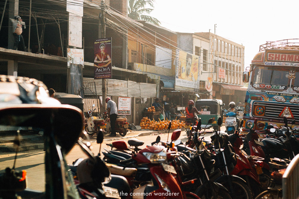 The colourful streets - one of the best things to do in Jaffna, Sri Lanka