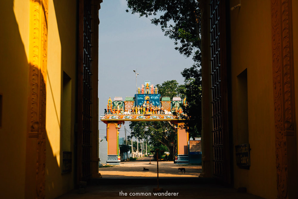 The hindu temples north of Jaffna - one of the best things to do in Jaffna, Sri Lanka