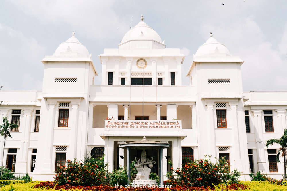 Jaffna Public Library - one of the best things to do in Jaffna, Sri Lanka