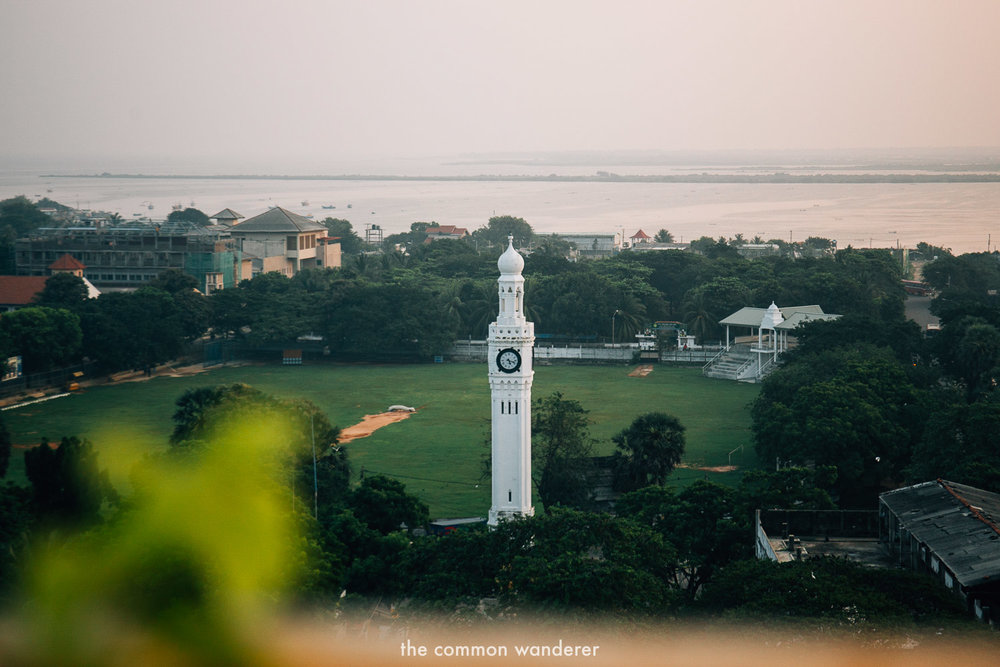 Jaffna Clock Tower - one of the best things to see in Jaffna, Sri Lanka