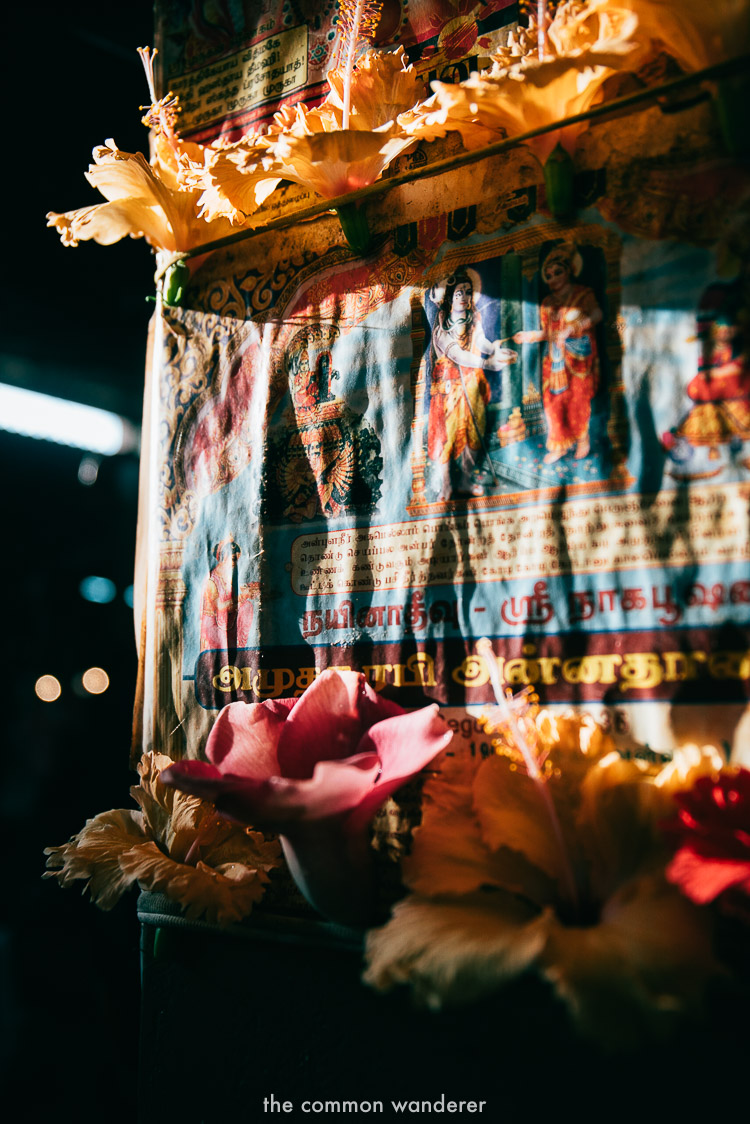 Colourful scenes in Jaffna market