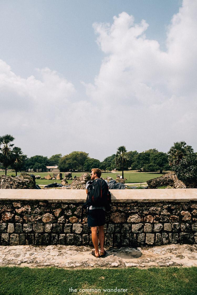 overlooking Jaffna Fort, Jaffna