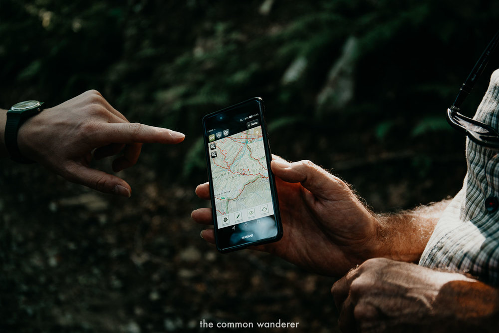 Map and app for hiking the Via Matildica in Emilia Romagna, Italy