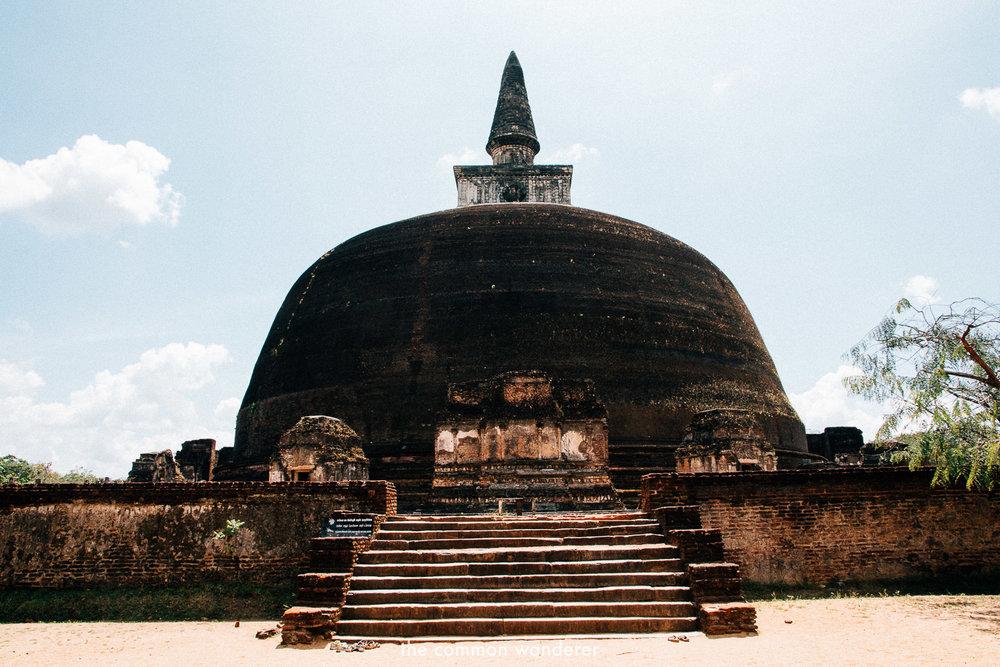 The sacred quadrangle in Polonnaruwa, Sri Lanka - the best things to see and do in Sri Lanka