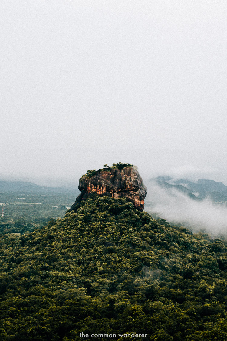 Hike to Pidurangala rock for sunrise - best things to do in Sri Lanka