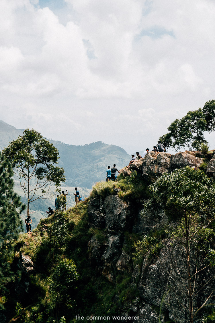 Ella rock is one of the best things to do in Sri Lanka