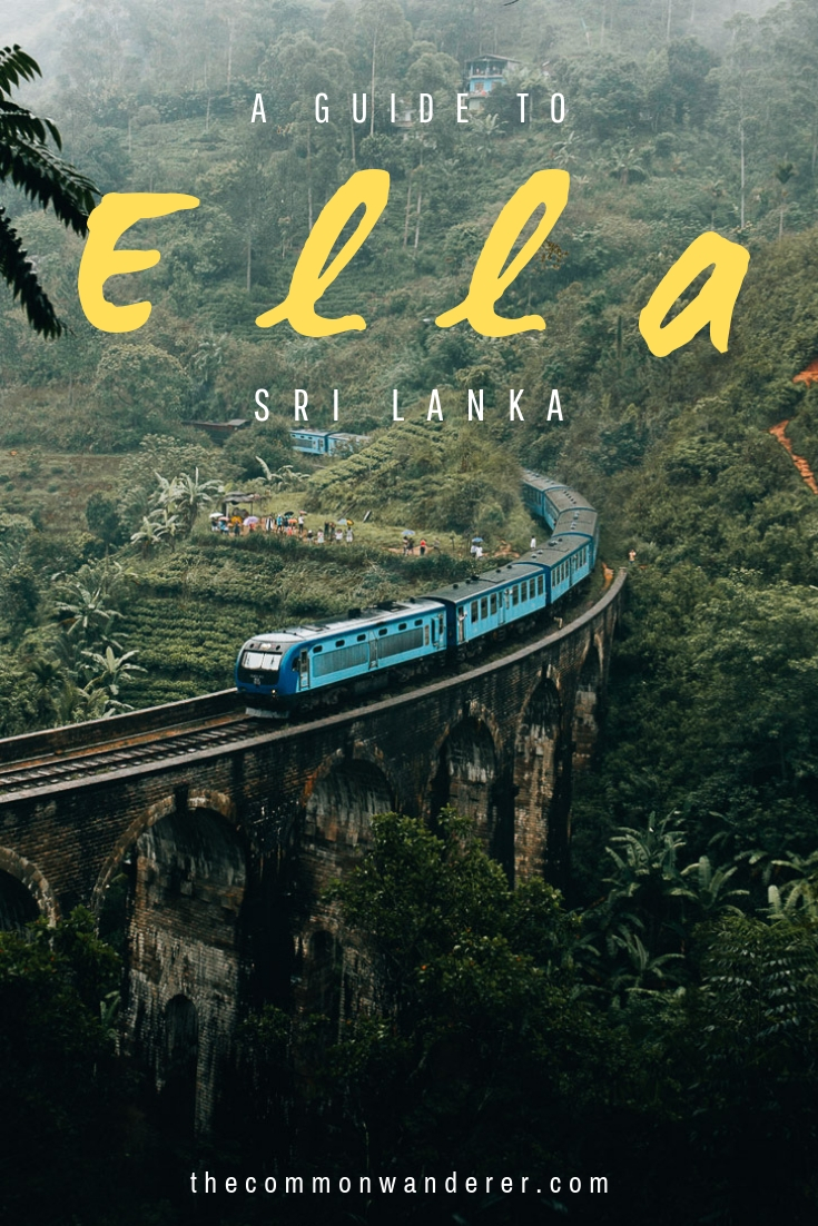 A must-see on any Sri Lankan itinerary; there's plenty to do in Ella! Here's our selection of the best activities, plus our short guide to the city on where to stay, eat, top travel tips, and how to get around! | Sri Lanka | Ella | Sri Lanka itinerary | Travel guides | Kandy | Horton Plains | Kandy to Ella train |   #srilanka     #   ella    #travel