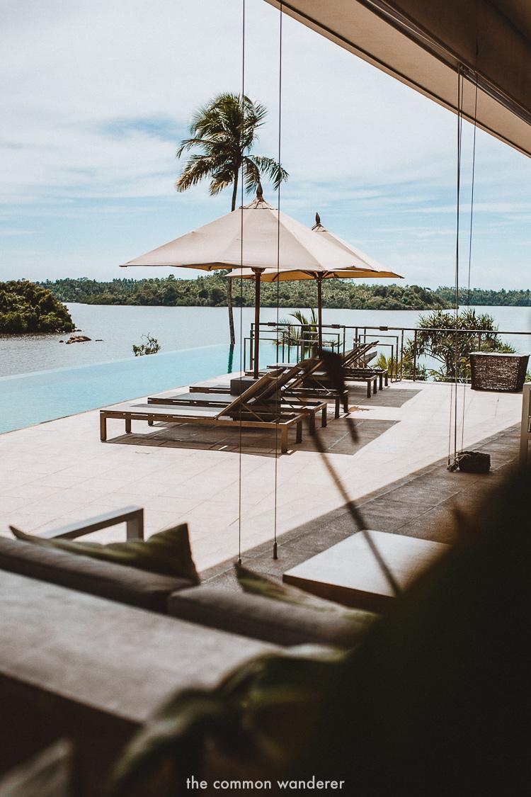 design elements at Tri hotel, Sri Lanka