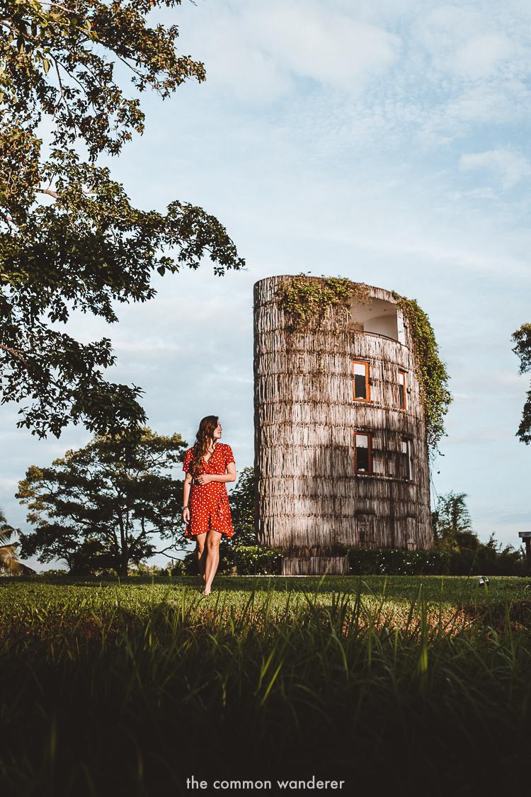 The water tower at Tri Lanka