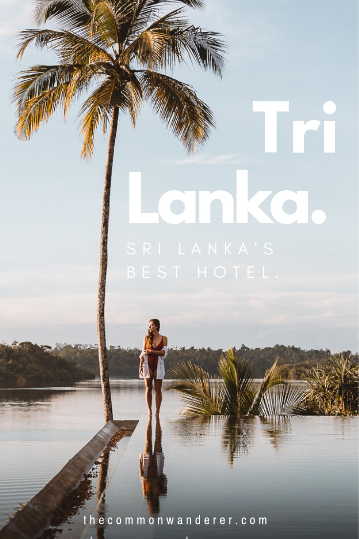 Is Tri the best eco-hotel in Sri Lanka? Our review of this luxurious, environmentally-friendly oasis on the shores of Koggala Lake, in southern Sri Lanka. Perfect for those seeking a wellness retreat, honeymoon escape, or just an inspiring, design-focused getaway. | Sri Lanka | honeymoon destinations | Tri Hotel | Koggala Lake | travel guide | Luxury hotels | Eco hotels | Where to stay in Sri Lanka | travel guides | #SriLanka #Asia