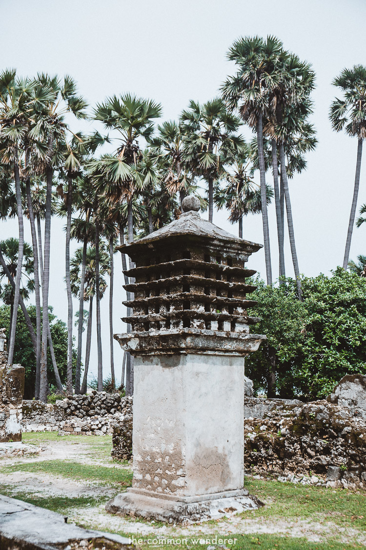The pigeon tower on Delft Island is a must visit attraction | Delft island travel guide