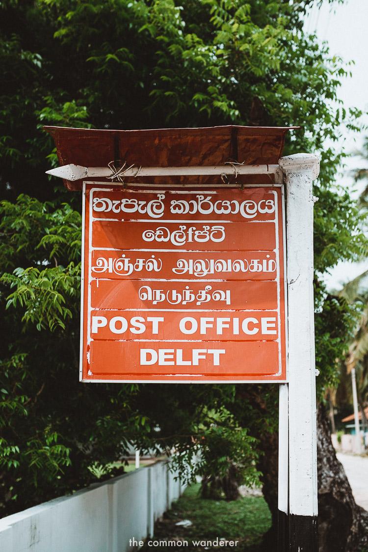 Delft Island post office,