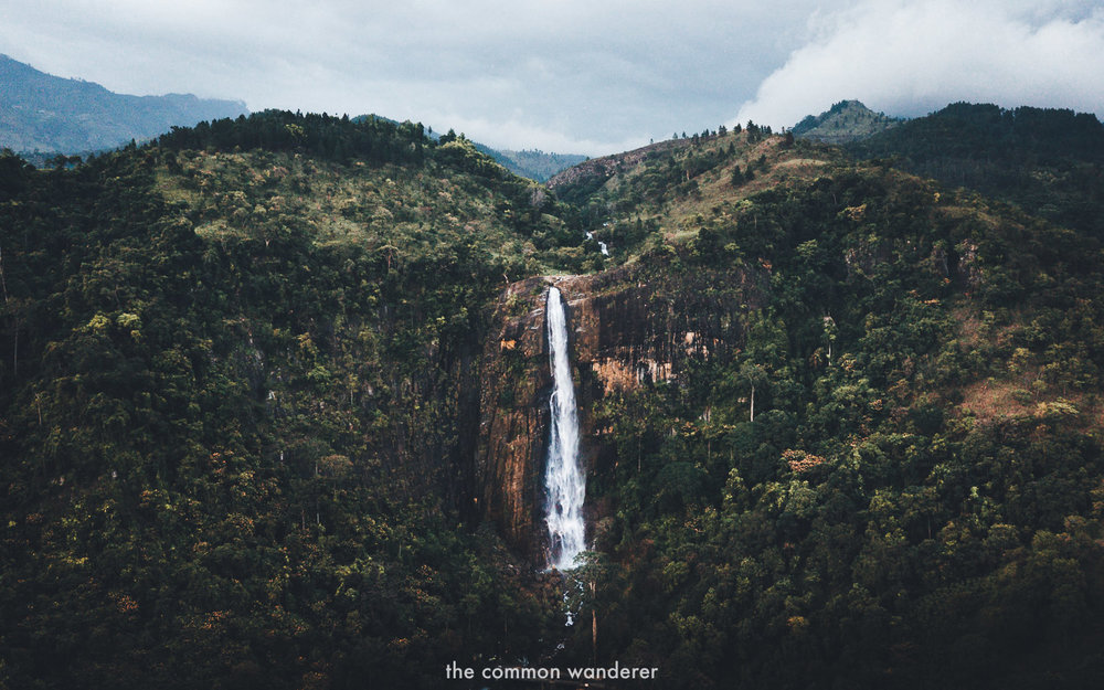 The incredible Diyaluma falls, Sri Lanka's 2nd tallest waterfall | Diyaluma Falls guide