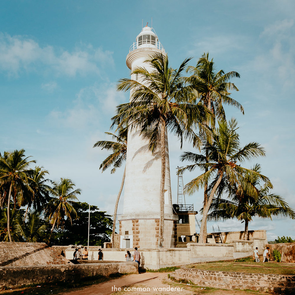 Our three week Sri Lankan itinerary   Galle Fort