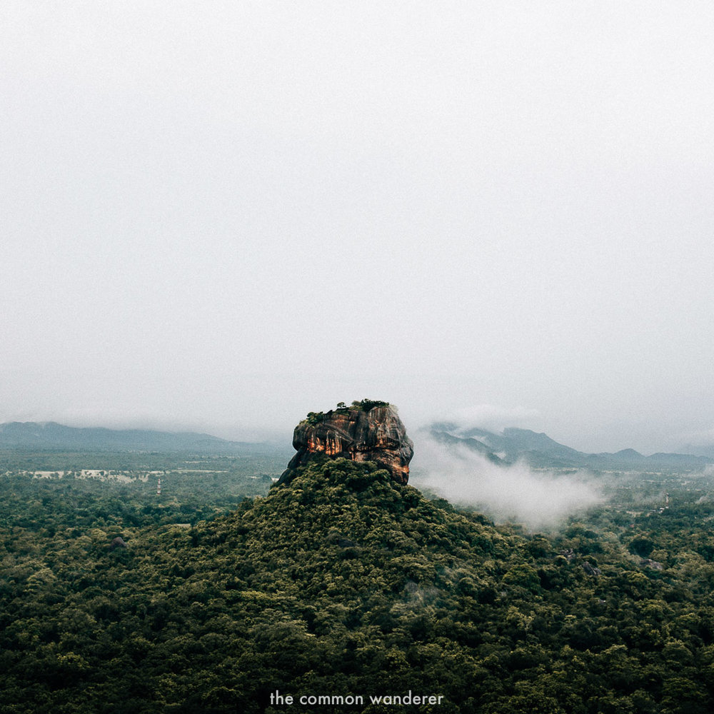 Sri Lanka Itinerary   Pidurangala rock