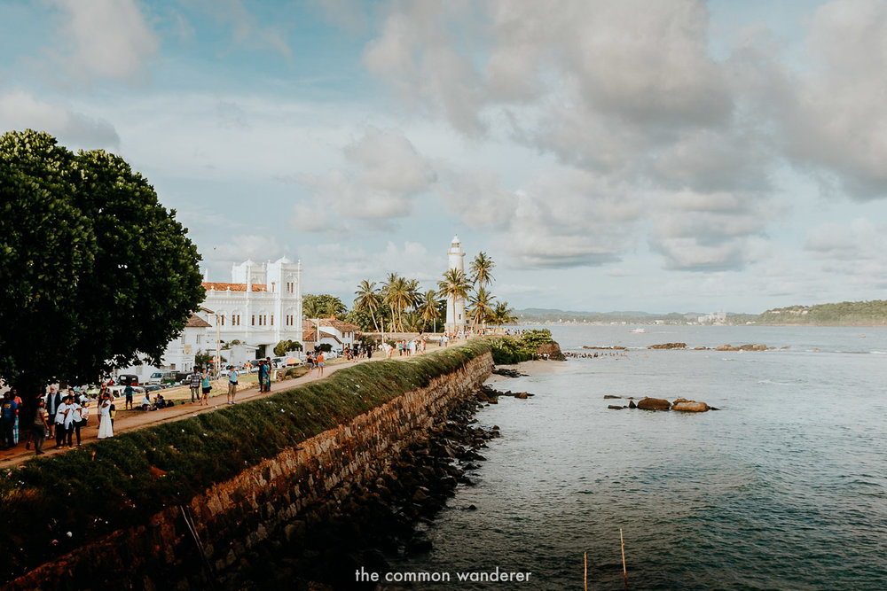 Sri Lanka highlights - The UNESCO World Heritage-listed Galle Fort